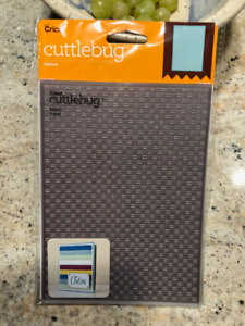 Cricut Embossing Folder!