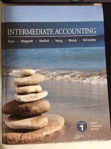 Used textbook: Intermediate Accounting