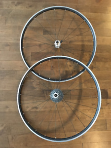 10spd Tubular Road Wheelset Handbuilt 700 C