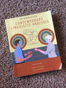 LING 111, LING 112 (An Introduction to Contemporary Linguistics)