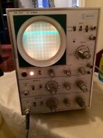 Vintage oscilloscope for sale in Pickering