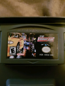 Midnight club for GBA