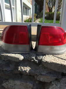 acura 1.6el valise trunk honda civic tail lights