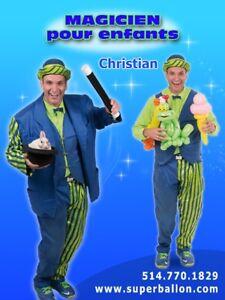 Magicien, Clown pour fêtes d'enfants