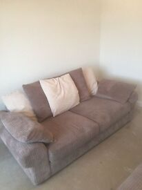 SOLD - 2 Seater and 4 Seater Sofa