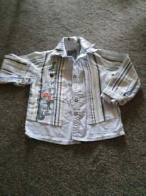 Mamas and Papas Baby Shirt 9-12 months