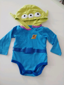 Baby Toy Story Alien Costume