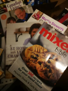 Several wonderful cookbooks