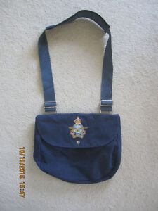 Vintage Blue Royal Candian Air Force Canvas Hand bag