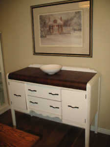 Vintage wooden sideboard/cabinet- REDUCED PRICE