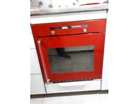 Red Baumatic single side opening oven
