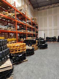 Excavator & Dozer Undercarriage Parts