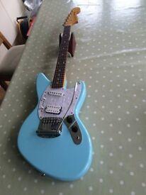 Fender Jag-Stang (part Jaguar, part Mustang, designed by Kurt Cobain)