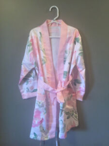 Bridal Robes _ Bride and Flower Girl
