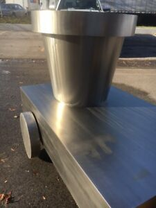 Stainless Steel Planter Pots - Reduced 75% off or more