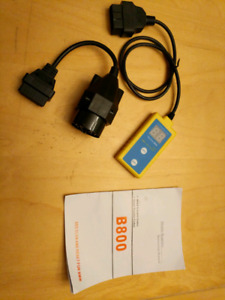 SRS airbag scan tool for BMW