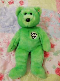 Bear green TY (34cm)