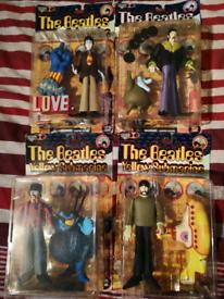 Vintage Beatles yellow submarine figures for swap