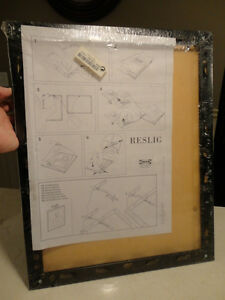 New Reslig Ikea 40cm x 50cm Black Framed Glass Photo Holder Kitchener / Waterloo Kitchener Area image 5