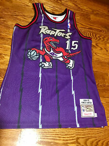 NEW Mitchell & Ness TORONTO Raptors Vince Carter. SIZE: MEDIUM