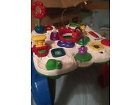 Vetch activity table. Lights and sounds.