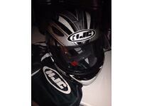 HJC ladies motorcycle helmet