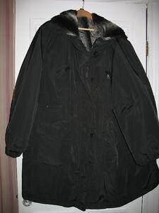 WOMEN'S  POLYESTER/NYLON WINTER COAT