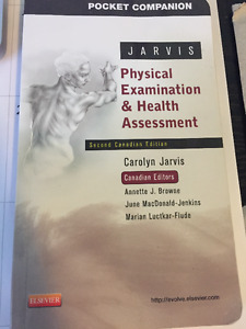 Jarvis Physical Examinatino & Health Assessment 2nd Edition