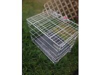 Small dog travel cage crate kennel