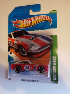 2011 Hot Wheels Treasure Hunt Regular Datsun 240Z