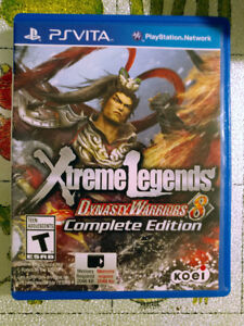 Dynasty Warriors 8: Xtreme Legends Complete Edition - PS Vita