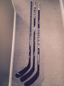 Bâtons de hockey en composite Gaucher