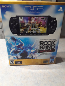PSP 3000 - Rock Band Unplugged bundle - Boxed Complete