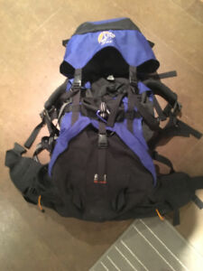 Lowe Alpine Sirocco 1 ND 60+15L backpack / SIZE SM / woman's fit