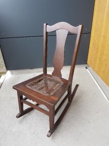 antique rocking chair for immediate sale