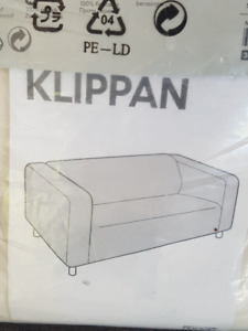 "2 Slip Covers for IKEA ""Klippan"" 2 seater couch"