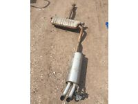 Volkswagen VW Passat B5.5 2001-2005 back exhaust