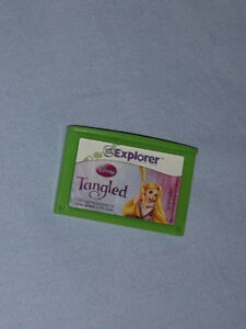 Leappad leapster explorer jeu game tangled