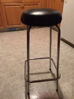 Four bar stools metal great condition