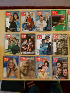 Vintage Mini TV Guides from the 70's