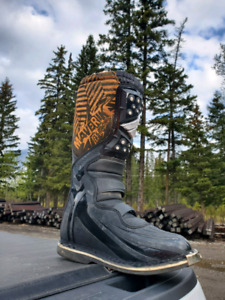 Fly dirtbike boots