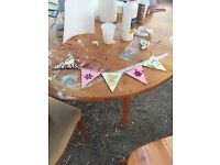 Bunting Painting