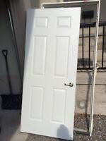 Exterior Door with Door Jamb