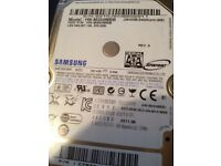 250GB hard drive