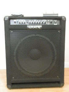 Crate bass amp