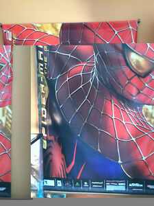 Spider-man Poster with light