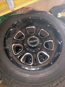 Wheel package for F250
