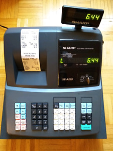 Sharp XE-A22S Electronic Cash Register for sale.