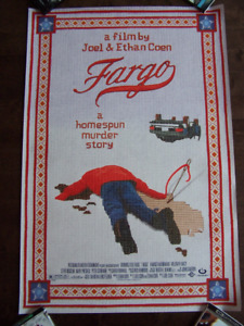 FARGO original movie theater poster double sided