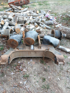Lift axle from 2000 manac log trailer
